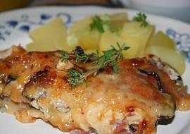 Zapékané vepřové plátky s anglickou slaninou a sýrem recept ...