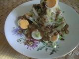 Salát hlávkový po orientálsku recept