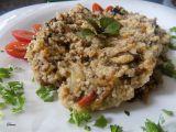 Kuskus s houbami a rajčatovou omáčkou recept