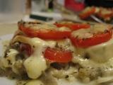 Zapékaný lilek s mozzarellou a rajčaty recept
