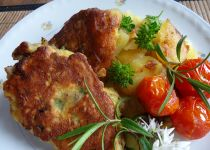 Vepřová plec na houbách a zelenině recept