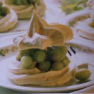 Sněhové dortíčky s angreštem recept