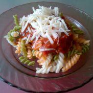 Rajčatová omáčka s těstovinami recept