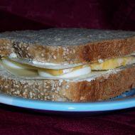 Sýrový sendvič s vejcem recept