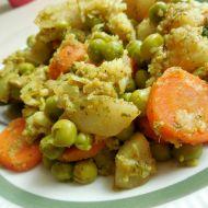 Rychlé zeleninové kari recept
