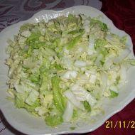 Salát z čínského zelí s cibulí recept