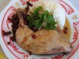 Kuře na brusinkách recept