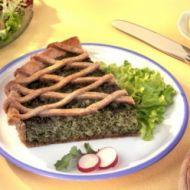 Špenátový koláč recept