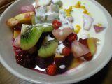 Ovocný salát s citrónovým dressingem recept