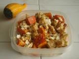 Dýňový salát s pečeným celerem recept