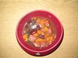 Fazolová polévka se zeleninou a klobáskou recept