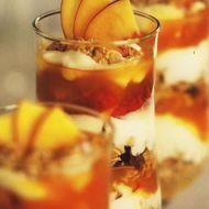 Ovocný pohár s nektarinkami recept