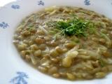 Pikantní čočková polévka recept