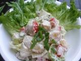 Salát z pečených brambor recept