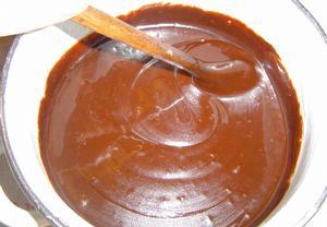 Vařená čokoládová poleva