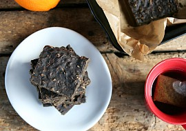Veganské proteinové brownies recept