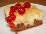 Strouhaný koláč tvarohový či makový recept