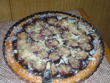 Švestkový koláč podle babičky