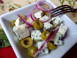 Pikantní předkrm z nivy a oliv recept