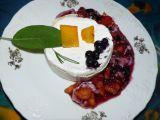 Pikantní sýr s nektarinkou a bylinkami recept