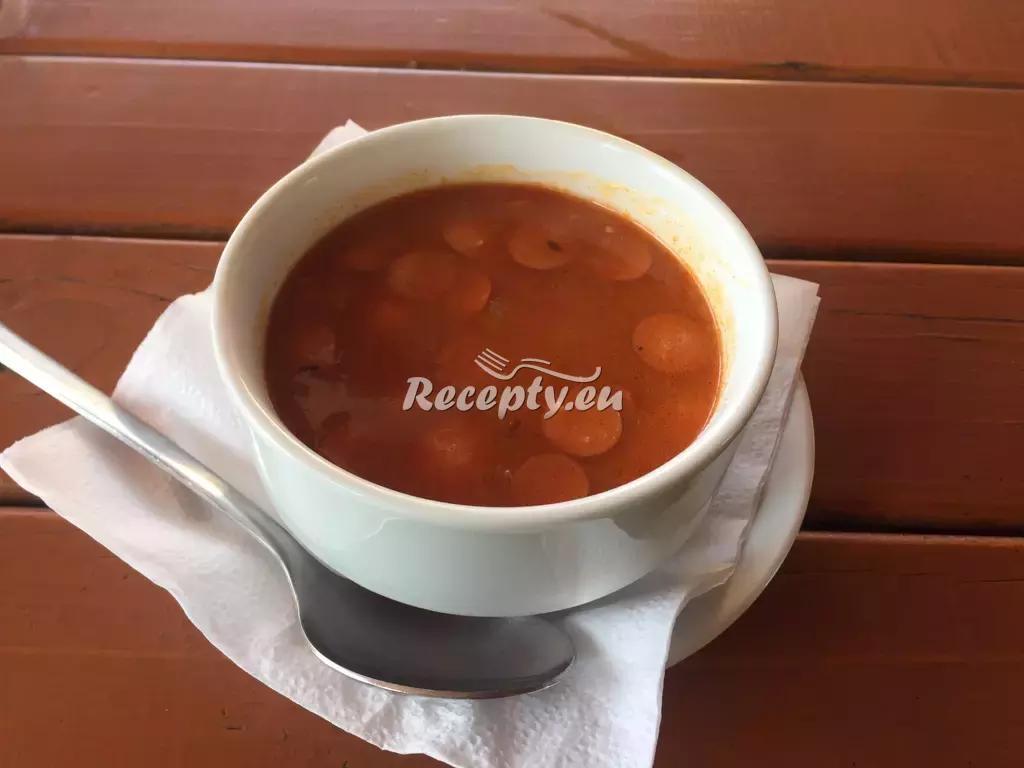 Bramborová polévka s párkem recept  bramborové pokrmy ...