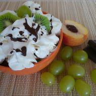 Ovocný pohár s nanukovým dortem recept