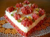 Hermelínová pomazánka do slaného dortu recept