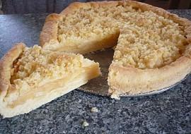 Máslovo  jablečný koláč recept