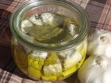 Nakládaný sýr v oleji recept