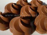 Plněné čokoládové pralinky recept