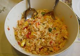 Salát z vodnice s mrkví a paprikami recept