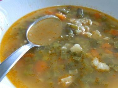 Jehněčí polévka