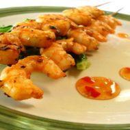 Marinované krevety na grilu recept