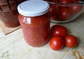 Rajčata ve vlastní šťávě II. recept