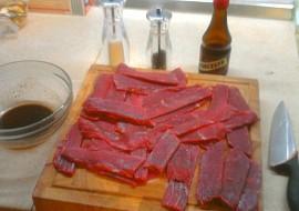 Domácí sušené maso  Jerky recept