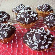 Kokosové košíčky s marcipánem recept