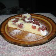 Višňovo-tvarohová bublanina recept
