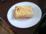 Bleskový koláč s broskvemi a kokosovou drobenkou recept ...