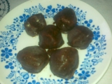 Švestky v čokoládě recept
