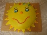 Inspirace dort Sluníčko recept