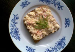 Bramborovo-sýrová pomazánka