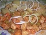Dušené maso se zeleninou recept