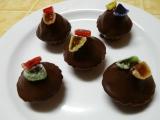 Kakaové košíčky recept