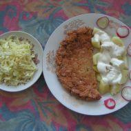 Dědův kuřecí řízek recept