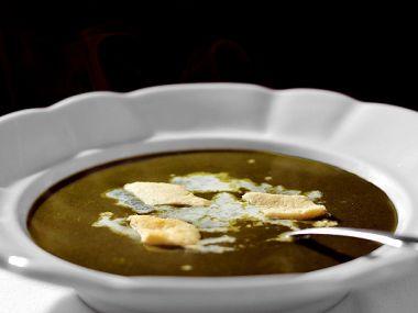 Špenátový svítek do polévky