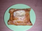 Šunka a sýr v listovém těstě recept