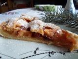 Jablečný koláč s cukrovo-skořicovou polevou recept