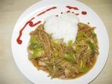 Čína z bambusových výhonků a kuř. masa recept