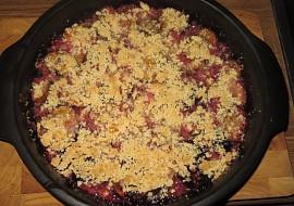 Švestky s drobenkou (krambl) recept