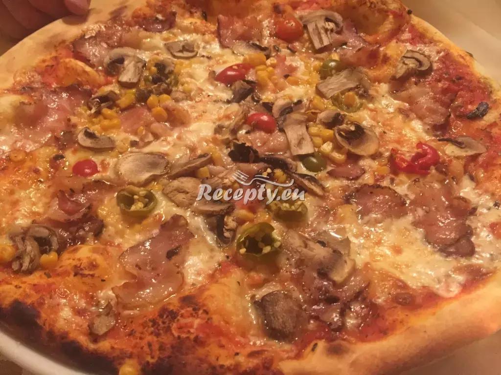 Dřevorubecká pizza recept  pizza